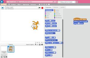 Scratch creation